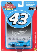 RACING CHAMPIONS RCSP001 1970 PLYMOUTH SUPERBIRD PETTY #43 1/64 DIECAST BLUE