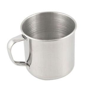 Stainless Steel Coffee Tea Mug Cup-Camping/Travel 3.5  Hot'JI