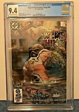 SAGA OF THE SWAMP THING 34 CGC 9.4 O-W/WP 1985 CONTROVERSIAL COVER