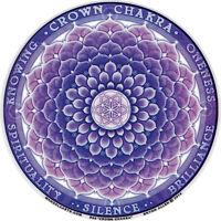 Crown Chakra - Window Sticker / Decal