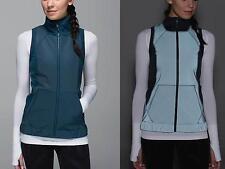 $178 NWT New LULULEMON Let's Get Visible Vest Jacket - Alberta Lake - Women sz 6