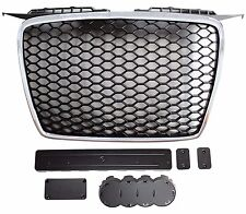Chrome & Black Grille RS Look for Audi A3 8P 2005-2008