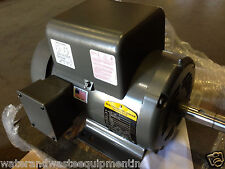 NEW BALDOR 5 HP 1 PH AIR COMP ELECT MOTOR 184T 230V SAME AS L1430T 36M926T077G2
