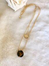 J.crew hawkbill turtle Charm Pendant Necklace Gold  K0038