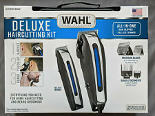 `Wahl Deluxe Complete Hair Cutting Kit 29 Piece Clipper Set with Beard Trimmer