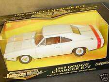 ERTL 1/18, 1969 DODGE CHARGER R/T, White, NEW