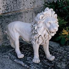 Lion European Style Estate Sentinel Sculpture Statue Left