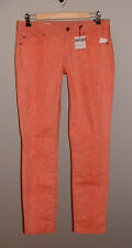 NWT GAP FALL '13 ALWAYS SKINNY PINK REEF LOW RISE STRETCH JEANS NEW SIZE 27