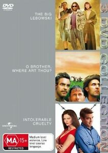 The Big Lebowski / O Brother, Where Art Thou? / Intolerable Cruelty DVD