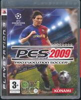 PES 2009 - PRO EVOLUTION SOCCER - PS3 (OTTIME CONDIZIONI) ITALIANO