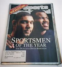 TIM DUNCAN David Robinson SPURS SOY SPORTS ILLUSTRATED
