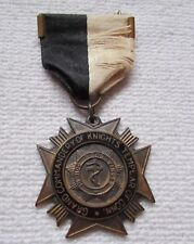 """USA Order Freemason Bijou Remembrance 1927 with """" Grand Commandery of Knigh"""
