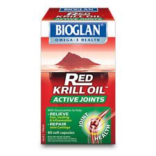 Bioglan Red Krill Oil Active Joints 60 Capsules with Glucosamine