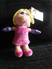"disney the muppets ""miss piggy"" 8""soft plush"