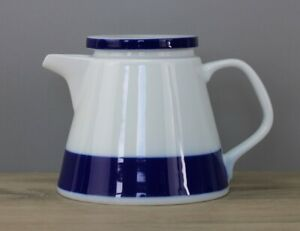 Melitta Form 23 Oslo blaues Band Teekanne Kanne Höhe ca. 13 cm