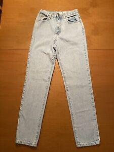 Vintage 90s Calvin Klein 5 Pocket High Waisted Mom Jeans Blue Denim Size 6