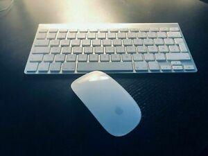 Apple Tastatur Keyboard A1314 deutsch Magic Mouse A1296 gereinigt desinfiziert