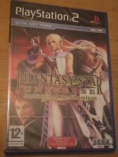 Phantasy star universe ambition of the illuminus (PS2) brand new factory sealed