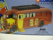 CORGI 97022 AEC REGAL COACH-Chipperfields Circo-locali di abitazione.