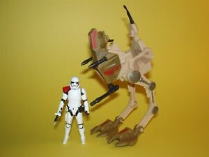 Star Wars TFA The Force Awakens Desert Assault Walker with Stormtrooper Officer