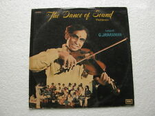 The Dance of Sound Thillanas Tamil  LP Record Bollywood India-1294
