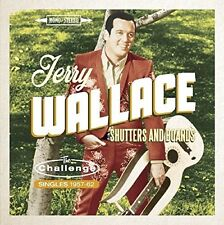 Jerry Wallace - Shutters & Boards: Challenge Singles 1957-1962 [New CD] UK - Imp