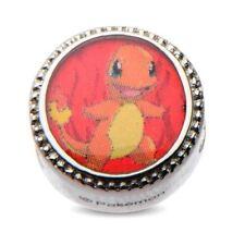 Ciondoli di bigiotteria rosso in acciaio