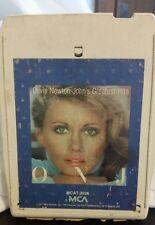 Olivia Newton John Greatest Hits  8 Track Tape 1977 MCA Records
