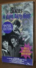 THE BEATLES A HARD DAYS NIGHT SPECIAL EDITION VHS TAPE SEALED