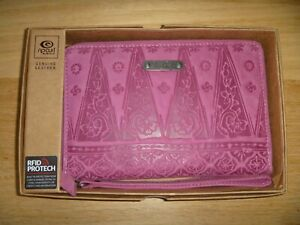 Rip Curl women's Siras Over sized Genuine leather wallet Brand New Pink
