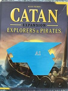 Catan Explorers and Pirates Replacement Pieces - A1 CATAN GAME BOARD PIECE