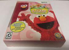 Sesame Street: Elmo's A-to-Zoo Adventure - The Videogame (Nintendo Wii) NEW