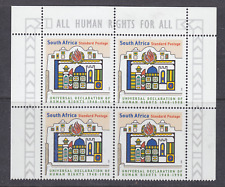 South Africa 1998 Human Rights  1v bl of 4 ** mnh (A1109C)