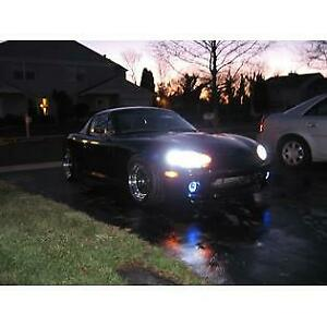 2001-2005 Mazda MX-5 Miata NB Halo Fog Lamps Driving Lights