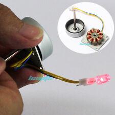 3~24V AC 3 Phase Micro Brushless Generator Mini Wind Hand Generator DIY Motor