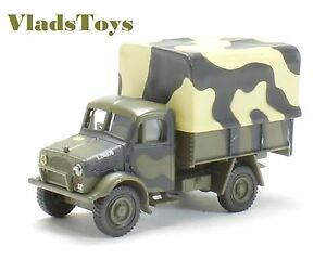 Oxford 1/76 Bedford OX 1.5 Ton Truck British Army 1st Armored Div 1941 B76BD017