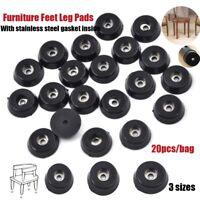Silla de mesa de goma, muebles, pies, patas, patas, protectores piso de azulejo