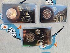 2 Euro Satz  Frankreich ASTERIX💕 Bi-Metall 💕 => Auflage 100.000 je coincard!💕