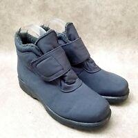 Toe Warmers Womens T99849 Sz 6 W Black Waterproof Ankle Boots