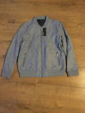 BNWT Boys M&S Autograph Light Grey Smart Linen Jacket - Age 12-13 -Years RRP £36