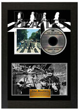 The Beatles Signed Framed Poster Display Disc CD Collectors Picture