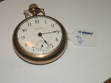 Face Gf,Grade 825 #5451,Vintage Pocket Watch,1907,Waltham,17J,18 s,Open