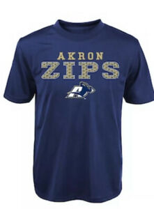 Boys Akron Zips Fulcrum Performance Tee Size 10/12