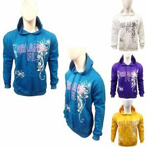 Women & Mens Print Pullover Jumper Hoodie Drawstring Hooded Jumper Sweatshirt