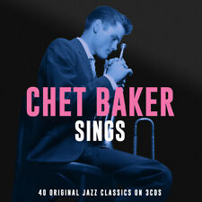 Chet Baker SINGS Best Of 40 Original Jazz Classics ESSENTIAL New Sealed 3 CD