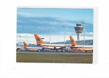 Hapag-Lloyd Airlines issued jet fleet cont/l postcard