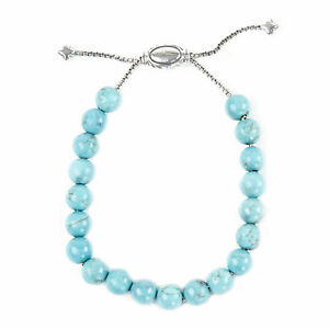 DAVID YURMAN Women's Turquoise Spiritual Bead Bracelet NEW