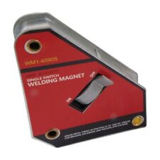"""4.4 X 3.7 X 1.1"""" 45/90 DEGREE WELDING MAGNET WITH SWITCH (8070-0070)"""