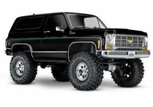 NEW R/C Traxxas Blazer 79 Chevrolet K5 Body Black TRX-4 1/10 Trail Crawler Truck