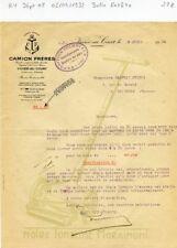 Dépt 08 - Vivier au Court - Belle Entête d'un Fabricant de Tondeuse à Main 1932